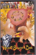 Nirvana Heart-shaped box   [MC TAPE] Cassette Single Neu