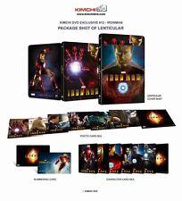 Iron Man 2-Disc Blu-ray KimchiDvd Exclusive Lenticular Steelbook No.12 New&Seal+
