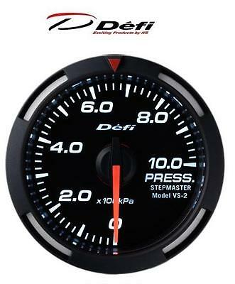 Defi Racer 60mm Car Exhaust Temperature Gauge Red JDM Style Stepper Motor