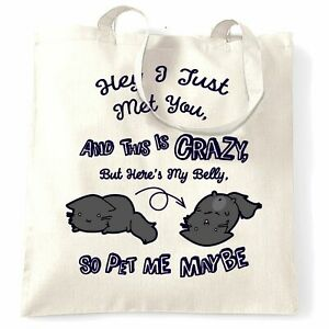 Hippo Tote Bag PERSONALISED Quality Natural Cotton Shopper Animal Cute Gift