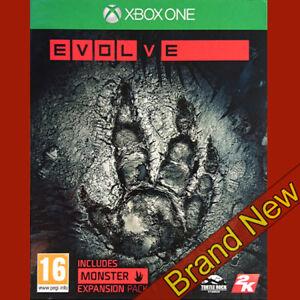 Evolve-Microsoft-Xbox-ONE-Gioco-di-azione-16-amp-Nuovo-Di-Zecca-Sigillato-UK-STOCK