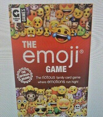Games Card Game By Ginger Fox Games Nib The Emoji Game