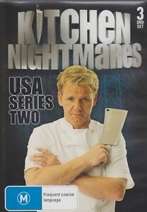 details about gordon ramsay kitchen nightmares usa series 2 3 dvd