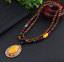Lange-Halskette-Nepal-Boho-Anhaenger-Retro-Vintage-Holz-Handgefertigt-Perlen Indexbild 18