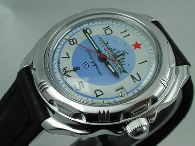 RUSSIAN  VOSTOK MILITARY KOMANDIRSKIE WATCH  # 211879  NEW