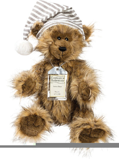 SPECIAL OFFER  Silber Tag Bears JAMES - Complete with GIFT BAG ( )