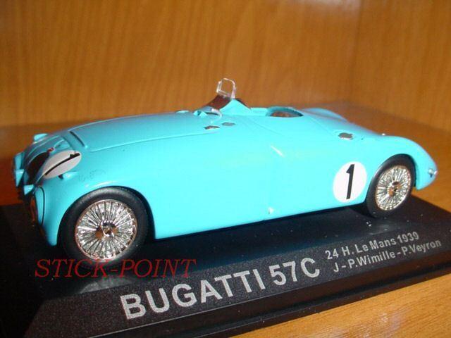 BUGATTI 57C 57 C LE MANS 1939 1 43 WIMILLE-P.VEYRON