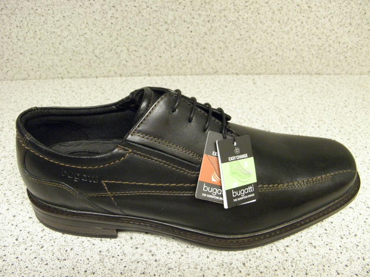 Bugatti ® reduce hasta ahora 89,95  zapatos + gratis premium-calcetines (b20)