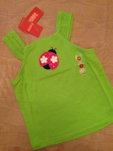 NWT Gymboree Pretty Lady Assorted Appliqued Tank Tops Sz 6 or 7
