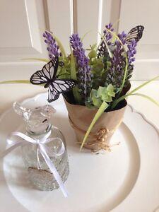 Lavendel blume deko shabby chic landhaus topfblume topf - Dekoration lavendel ...
