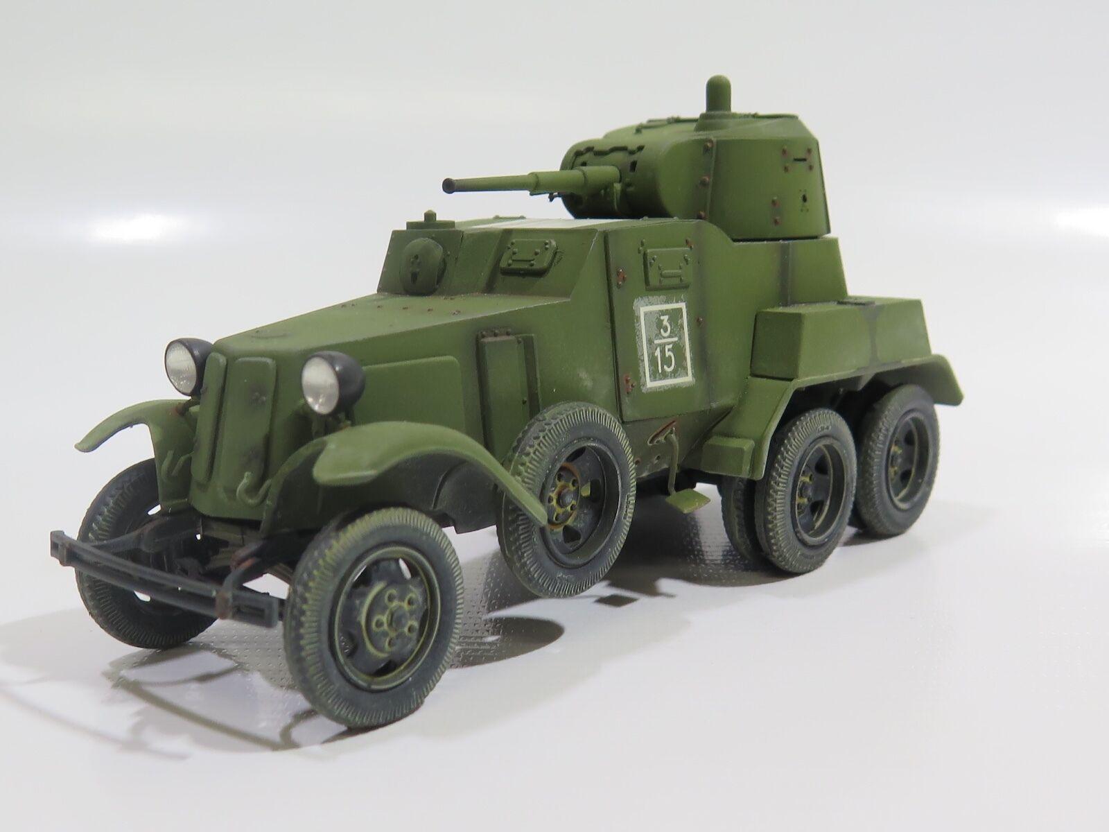 MY2035 - 1/35 PRO BUILT - Plastic Eastern Express Soviet BA-10 ArmoRouge  Car | Belle Qualité