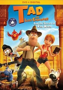 Tad-The-Lost-Explorer-And-The-Secret-Of-King-Midas-New-DVD-Ac-3-Dolby-Digit