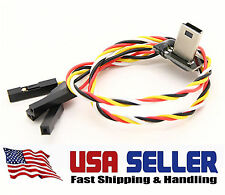 Mobius USB to AV Out FPV Video Feed Cable with Power Fits ALL Transmitters