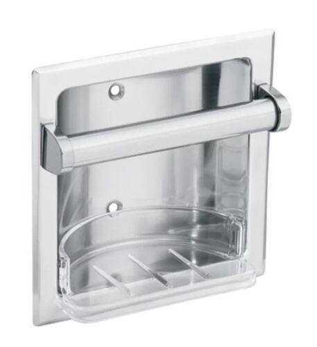Moen 2565CH Donner Commercial Soap Holder Chrome Brand New