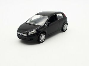 1-43-Fiat-Punto-Schwarz-NOREV-Modellauto-Ohne-OVP