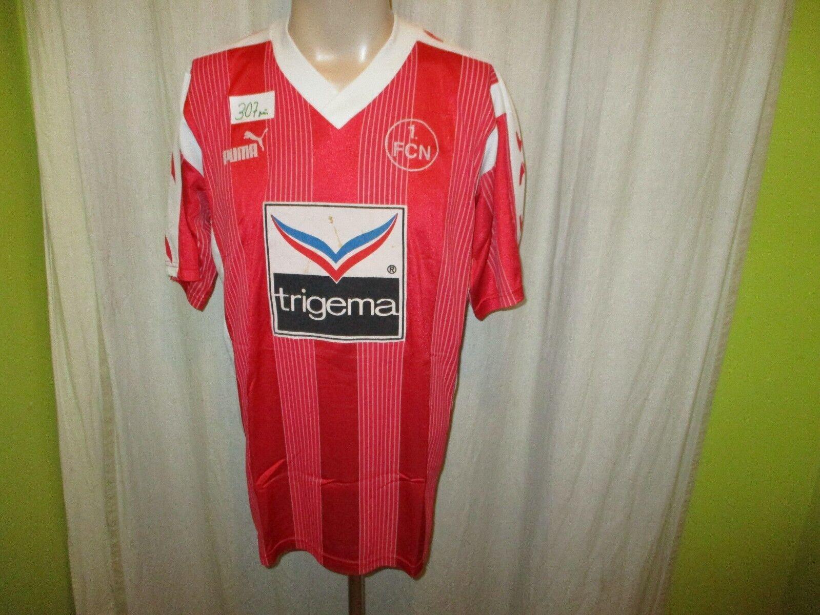 1.FC Nürnberg Original Puma Heim Trikot 1993 94  trigema  Gr.L TOP  | Hochwertige Materialien