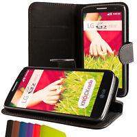 LG G2 mini PU Handy tasche  case Brieftasche klapp schutz hülle cover