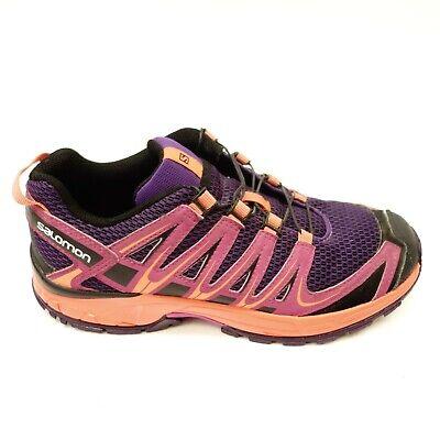Salomon Womens Size 5 XA Pro 3D Purple Athletic Hiking Mountain Running Shoes   eBay
