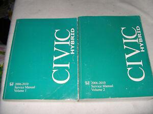 2010 honda civic hybrid service manual