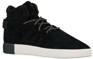 quality design 0a062 2cc86 Details about Mens ADIDAS TUBULAR INVADER Black Trainers S80243