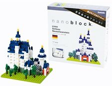 Nanoblocks Schloss Neuschwanstein Mini Ladrillos Rompecabezas nanoblock Gran Regalo