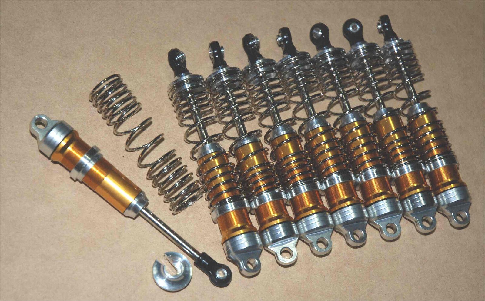 Gran diámetro de rendimiento de aluminio choques Fit Traxxas Maxx Maxx 3.3 2.5 oro T E