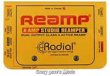Radial X-Amp Studio ReAmper Active Re-Amper Re-Amplifier XAMP!