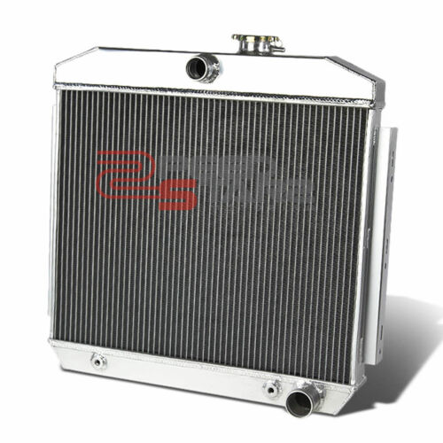 55-57 CHEVY SMALL BLOCK V8 MT 3//TRIPLE ROW//CORE FULL ALUMINUM RACING RADIATOR
