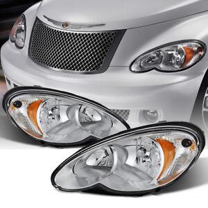 06-10-Chrysler-PT-Cruiser-Faro-Delantero-Lampara-de-Senal-Repuesto-Montaje-Par
