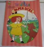 Vintage 1996 Madeline Paper Doll Book Golden Books Uncut, Mint