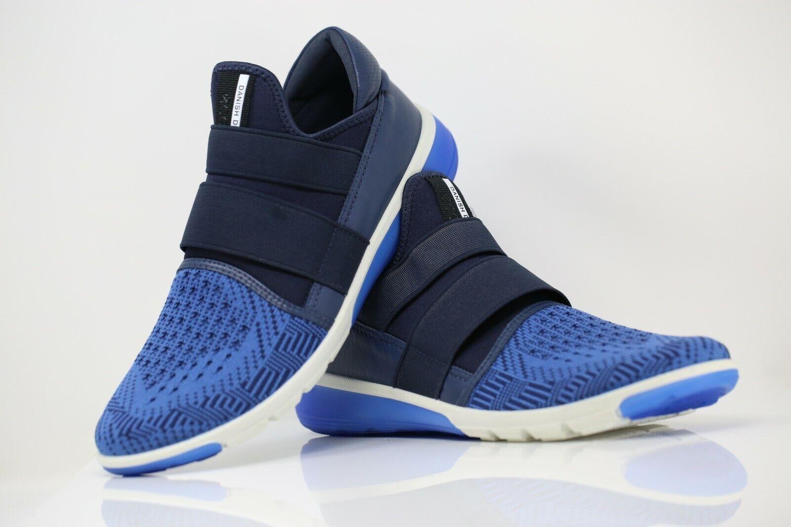 Ecco intrinsèque 2 Femmes Unisexe Chaussures Baskets Noir Bleu UK 8 EUR 41