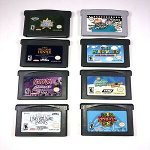 Gameboy-Advance-Games-Lot-Of-8-Games-Including-Super-Mario-World-2