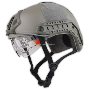 Emerson MH Helmet+NVG Shroud Tactical Airsoft Hunting  Adjustable Predection FG  ultra-low prices