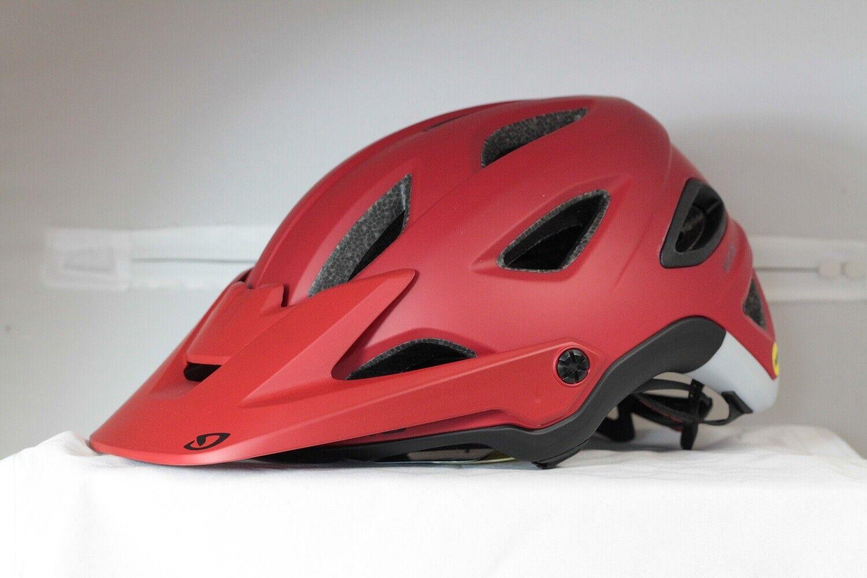 Giro Montaro MIPS Mountain Bike Helmet  Matte Dark rosso, Small 5155cm