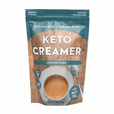 Keto Coffee Creamer w/ MCT Oil Ketogenic Weight Loss Dairy ...