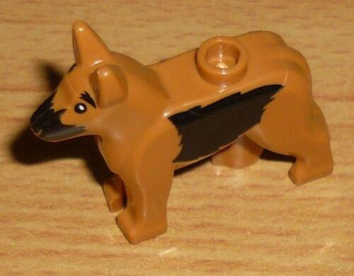 braun // schwarz Lego 1 Hund mit Flecken