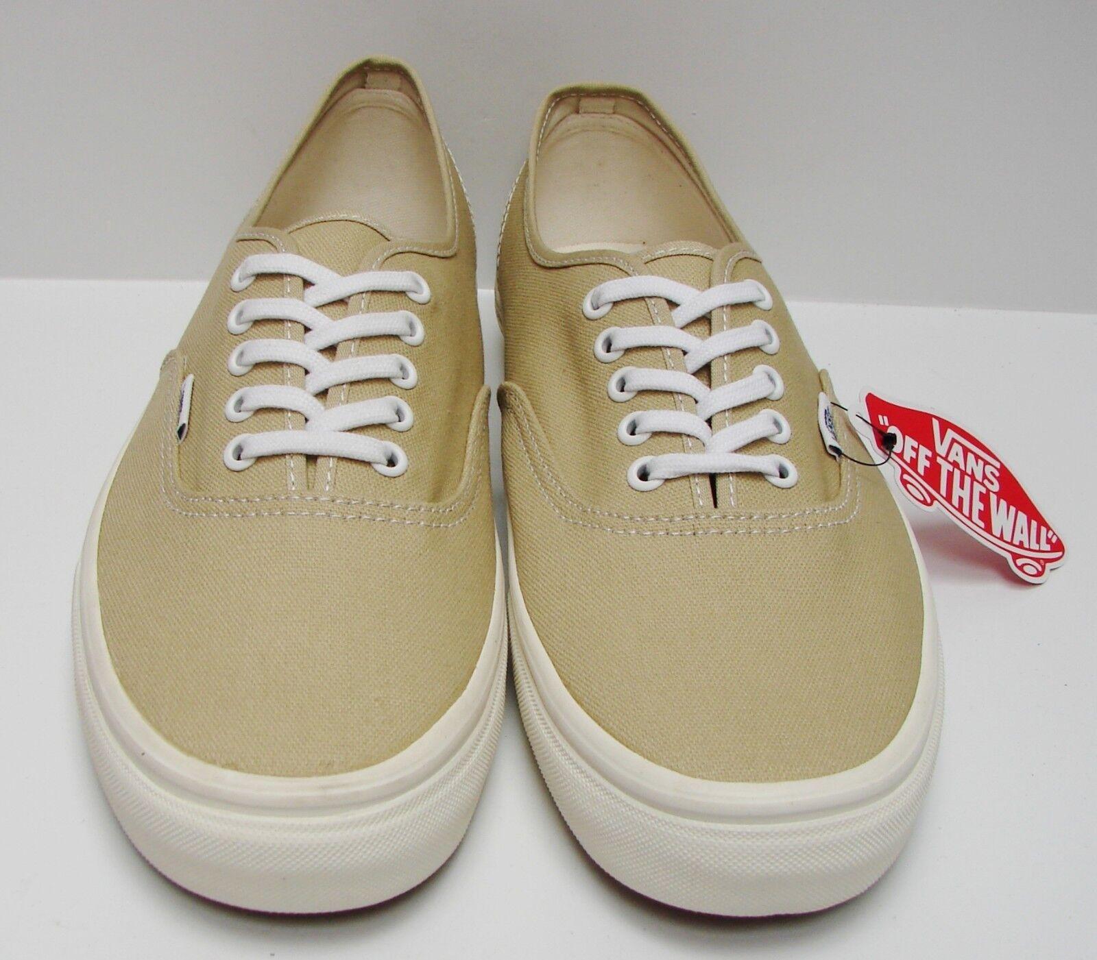 4a66effb2e Vans Authentic Vintage Pale Khaki Marshmallow VN-0VOEC7M Men s Size 6.5