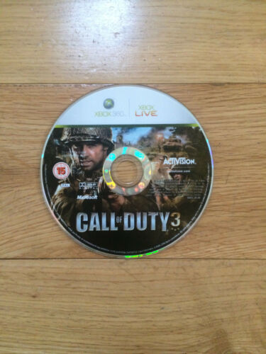 1 of 1 - Call of Duty 3 for Xbox 360 *Disc Only*