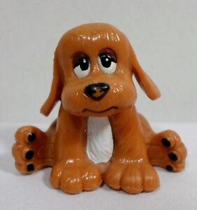 TONKA VTG 1984 POUND PUPPIES SITTING PVC FIGURE PUPPY DOG FIGURINE PPI / LGT