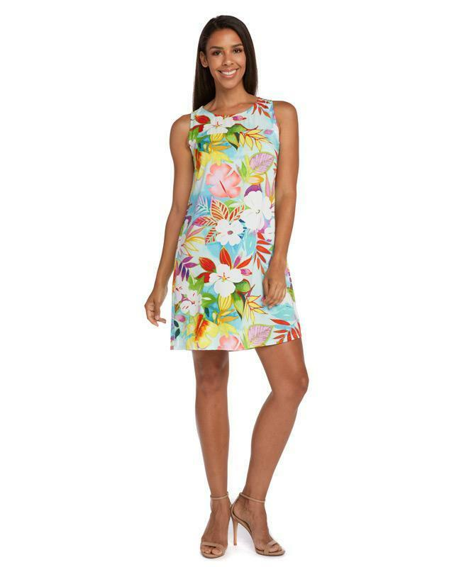 NEW Jams World Jackie Dress in Luau Print XL Made in USA