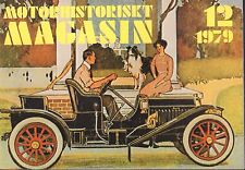Motorhistoriskt Magasin Swedish Car Magazine 12 1979 Studabaker 032717nonDBE
