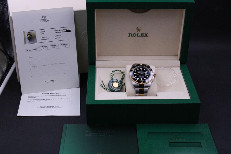Rolex Submariner G/S 126613LN - New 2021