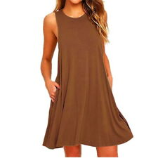 a16906b8805e43 item 5 New Summer Women s Sleeveless Tunic Top T Shirt Blouse Vest Dress  Plus Size DS -New Summer Women s Sleeveless Tunic Top T Shirt Blouse Vest  Dress ...