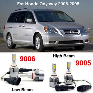 Image Is Loading 9005 Hb3 9006 Hb4 Led Headlight Kit Bulbs