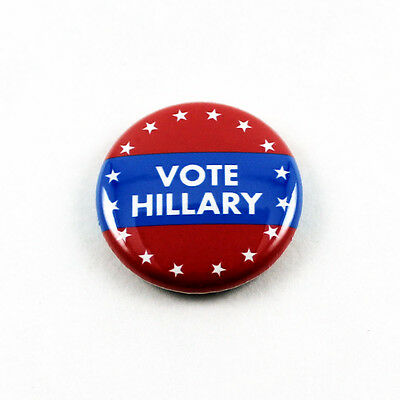 Hillary Clinton 1 Inch Pinback Lot of 12 Lapel Pin Campaign Button Subtle