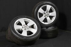 Audi-TT-8S-17-Zoll-Alufelgen-ALU-Komplettraeder-225-50-R17-Hankook-Sommerreifen
