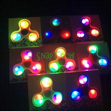 20 Pack LED Fidget Spinner Tri-Spinner Fidget Toy EDC Hand Finger Spinner Desk