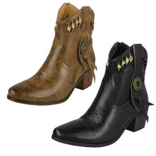 mujer down to Earth-Cowboy botas