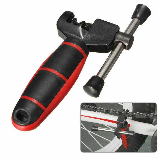 Protable Bike Steel Chain Splitter Breaker Bicycle Removal Rivet Repair Tool HOT