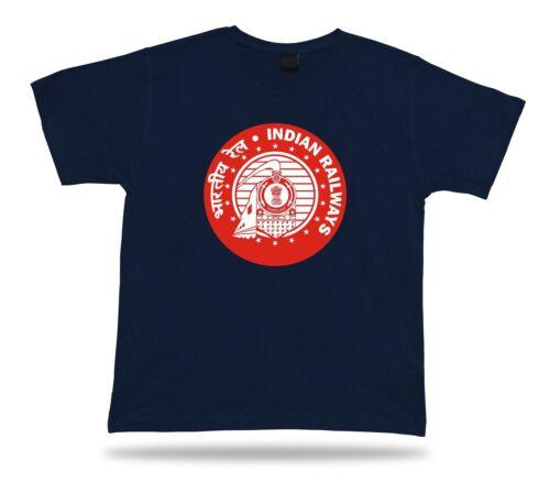 Indian Railways Unisexe T-shirt Vintage Style TIMBRE Icône Vintage signe classic road apparel